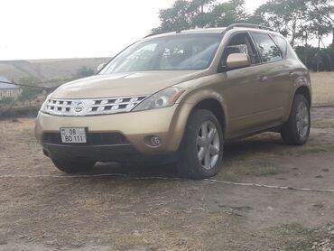 bu azlitrajlı avtomobili dəyişirəm - Azərbaycan: Nissan Murano 3.5 l. 2006 | 135000 km