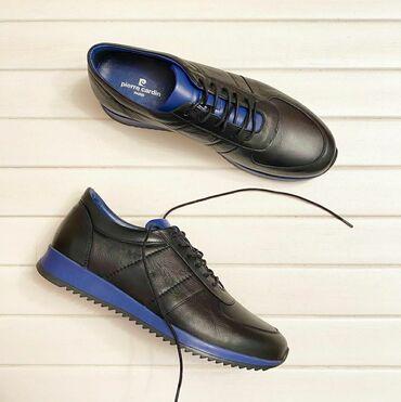 спортивные кроссовки мужские в Кыргызстан: Мужские кожаные кроссовки. Размер 42,44. Натуральная кожа внутри и