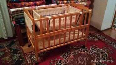 бу детские кроватки в Кыргызстан: Детская кроватка в отличном состоянии, б/у. Цена 4000 сом