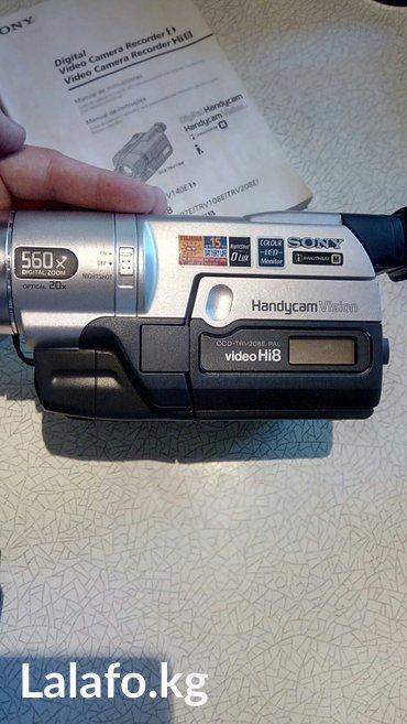Видеокамера sony, кассетная. состояние в Лебединовка