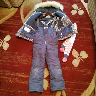 Продаётся детский, зимний комбинезон.На девочку 7-8 лет, 128 см. Б/У