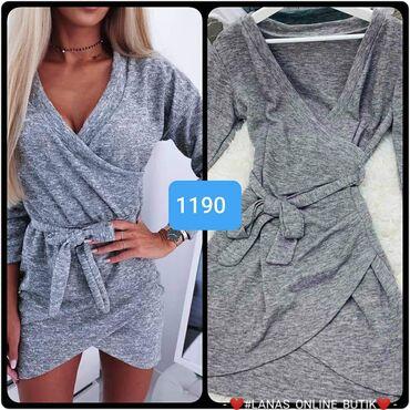 Siva haljina S m l