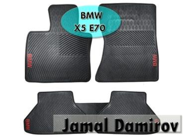 bmw x5 xdrive35d steptronic - Azərbaycan: BMW X5 E70 üçün silikon ayaqaltilar.Силиконовые коврики для BMW X5