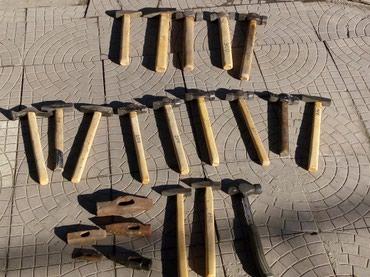 Молоток СССР 150, 200, 250,300 сом. Оптовым покупателям уступка будет. в Novopokrovka