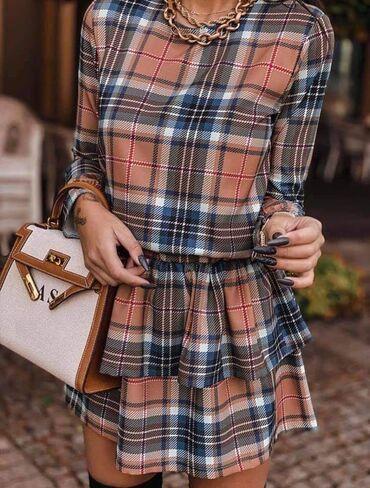 Karo haljina NOVO SA ETIKETOM!* Nova Kolekcija *Dostupne boje