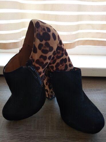 Туфли: замша, в хорошем состоянии