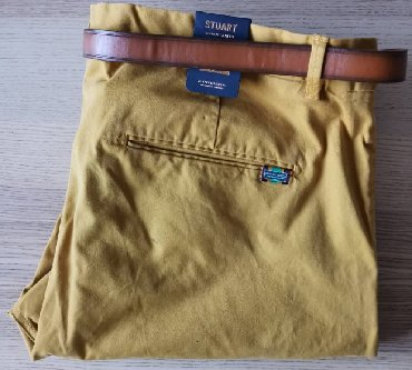 SCOTCH & SODA pantalone, oker boje, W38 L34 - NOVO   SCOTCH &