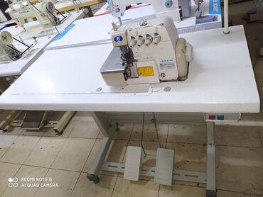 швейная машина веритас цена в Кыргызстан: Четырех нитка сатылат иштеши аябай жакшы жумшак тигет фирма Жак