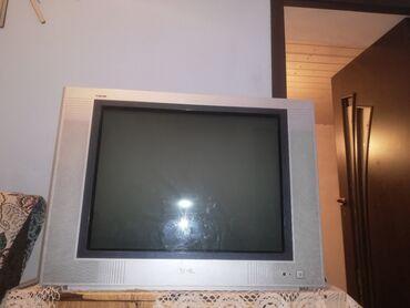 Электроника - Новопавловка: Срочно продаю большой телевизор в отличном состоянииширина 77смвысота