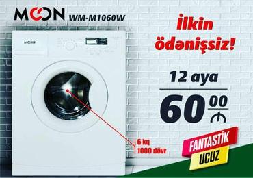 Bakı şəhərində Öndən Avtomat Washing Machine 6 kq.