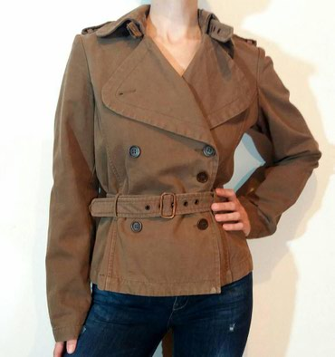 Italijanska,brendirana jakna New Penny,moka braon boje,od pamucnog, - Belgrade