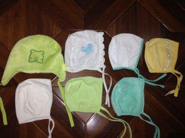 Новые шапочки по 40 с  в Бишкек