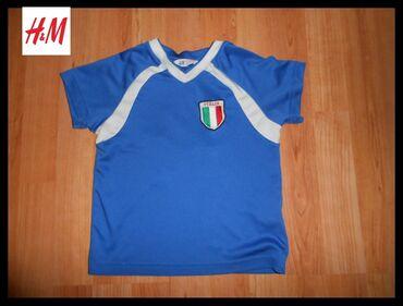 Dres Italija by H&M vel.2-4Dres Majica Italija iz kolekcije