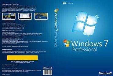 Windows emeliyyat sistemi yazilmasi ve viruslarin temizlenmesi в Bakı