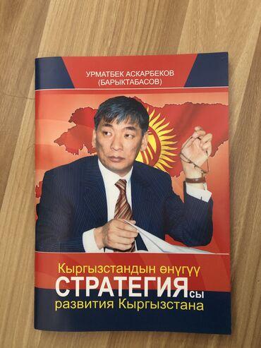 Стратегия развития Кыргызстана. Урмат Барыктабасов