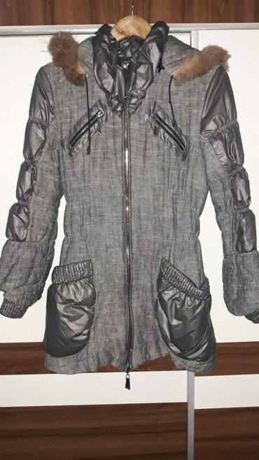 Zimska jakna, sive boje, izuzetno očuvana, broj M. - Nis
