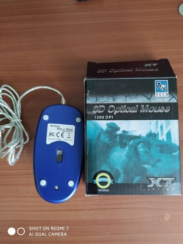 мышка-бишкек в Кыргызстан: Хорошая игровая мышка, покупал за 750 продаю потому что купил новую