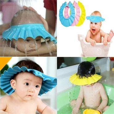Козырёк- шапочка для мытья головы без слез! Практически каждая мама