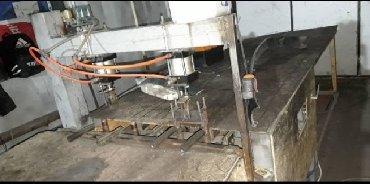 шлакоблочный станок в Кыргызстан: Продаю готовый бизнес. Станок по производству сетки мак для кладки