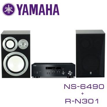 музыкальные центры в Кыргызстан: Колонки NS-6490 Усилитель R-N301