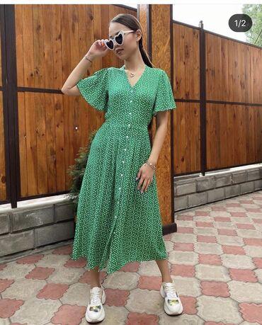 Продаю новое Платье! Размер S. Качество супер, легкая ткань, в жару