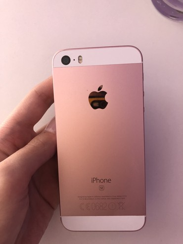 Apple Iphone - Paracin: Polovni iPhone SE 32 GB Zlatno-roze (Rose Gold)