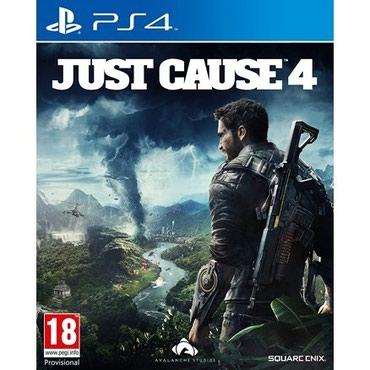 Bakı şəhərində Ps4 üçün Just Cause 4 oyun diski satılır. Yenidir tam bağlı