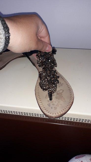 Sandalice crne,jako udobne,i slatke mogu uz sve da se kombinuju - Belgrade