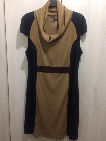 Cortefiel haljina, velicina L. Kombinacija crno-braon. Duzina 93cm, - Crvenka