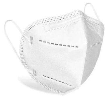 Маски медицинские - Кыргызстан: Оригинальная Защитная маска-респираторKN95(соответствует
