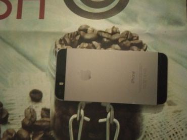 Bakı şəhərində IPhone 5s əla vəziyyətdədir hec bir problemi yoxdu 16GB yaddaş