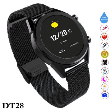 elektron termometr - Azərbaycan: Yeni model smart saat DT28 Smart Watch DT28   Smart Bracelet DT28 -