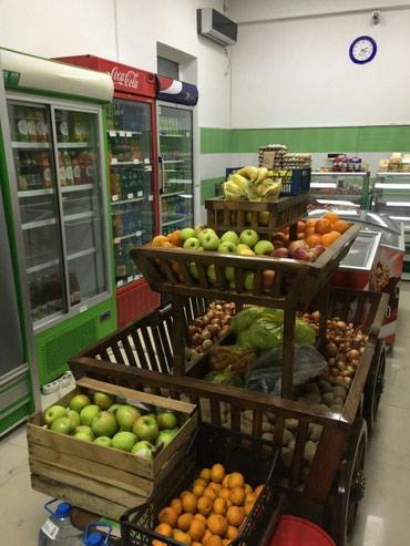 Bakı şəhərində Market ucun Meyve terevez arabasi .