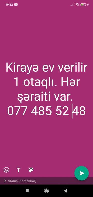bir gunluk ev in Azərbaycan | GÜNLÜK KIRAYƏ MƏNZILLƏR: 16 kv. m, 1 otaqlı