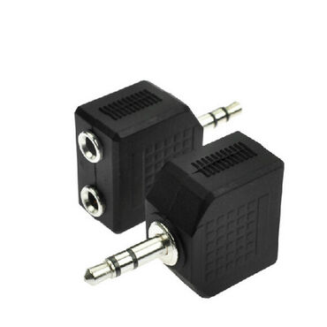 Адаптер Jack 3.5 мм (male) - Jack 2х 3.5мм (female)