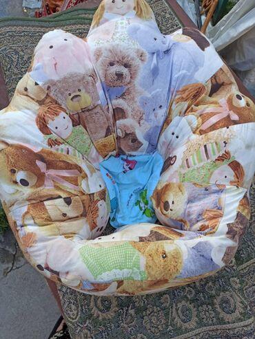 Детское мягкое плюшевое сидение, удобная сидячая осанка для детей 0-8