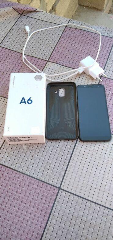 zapchasti a6 в Азербайджан: Samsung Galaxy A6 32 ГБ Черный