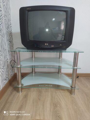 Продаю телевизор вместе с журнальным столиком, в отличном состоянии