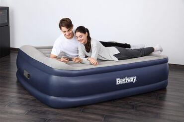 Наличии·бренд: bestbeyнадувная кровать 152х203х51 см, со встроенным