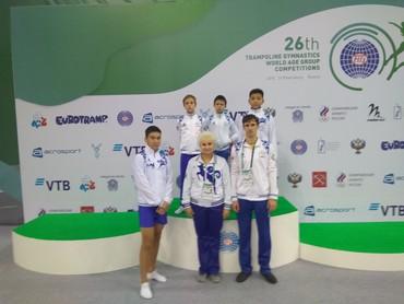 sportivnye shtany i rubashka в Кыргызстан: Прыжки на батуте (спортивная акробатика) набор детей с 3 лет. Занятия