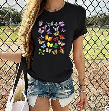 Стильные, модные женские футболки. Размер 48
