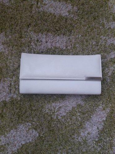 Bela pismo torbica, generalno je u odlicnom stanju, ima malo