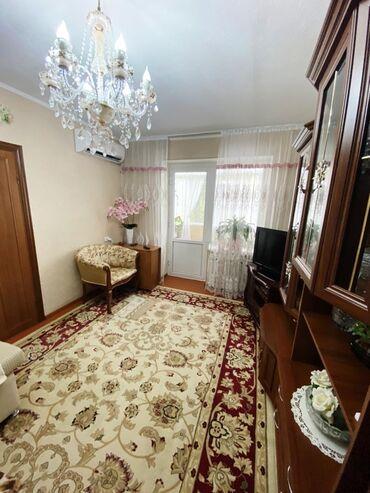 Продажа квартир - Бишкек: Индивидуалка, 2 комнаты, 43 кв. м Бронированные двери, Раздельный санузел, Угловая квартира
