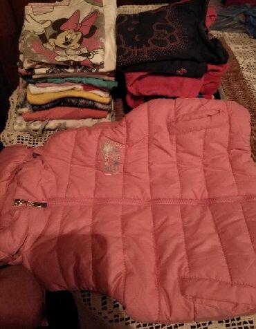 Zimske helanke teksas jaknice bluzice za - Srbija: Paket za devojčice sadrži bluzice kratkih, dugih rukava, deblje