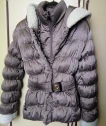 Zimska-jakna-sa-krznom - Srbija: Zenska zimska jakna kao nova,punjena sa krznom,kapuljaca se