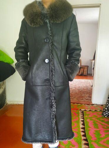 Женская одежда в Тюп: Натуральная дублёнка 48р