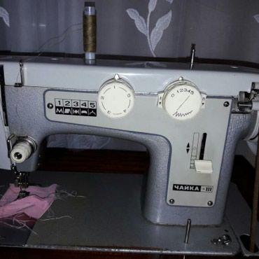 Продаю швейную машинку Чайка . Ножный и электрический привод.   в Бишкек