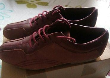 Fashon bordo cipele, velicina 37, duzina unutrasnjeg gazista 23,5 cm, - Belgrade