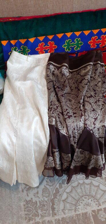 вечернее платье 48 50 размер в Кыргызстан: Продаются юбки . Размер 48-50. По 100 сом каждая. Производство Турция