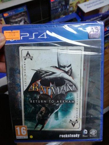 Bakı şəhərində Batman return to arkham